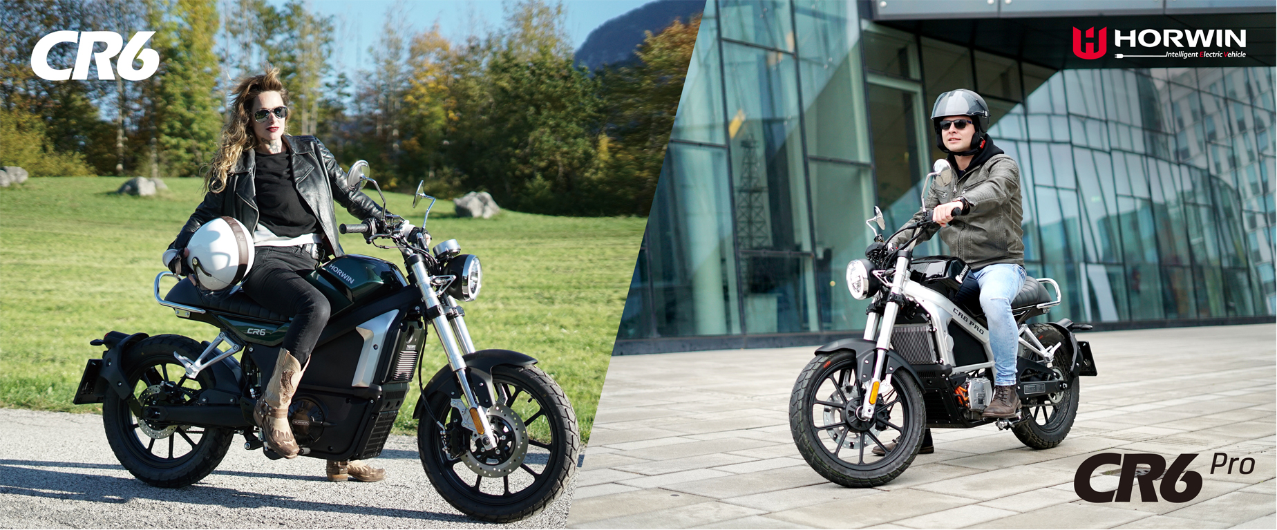 electric motorcycles Horwin CR6 & CR6 PRO
