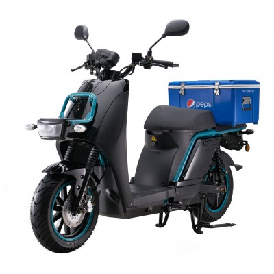 Electric Delivery Cargo Scooter - Delivery Express Fleet Scooters